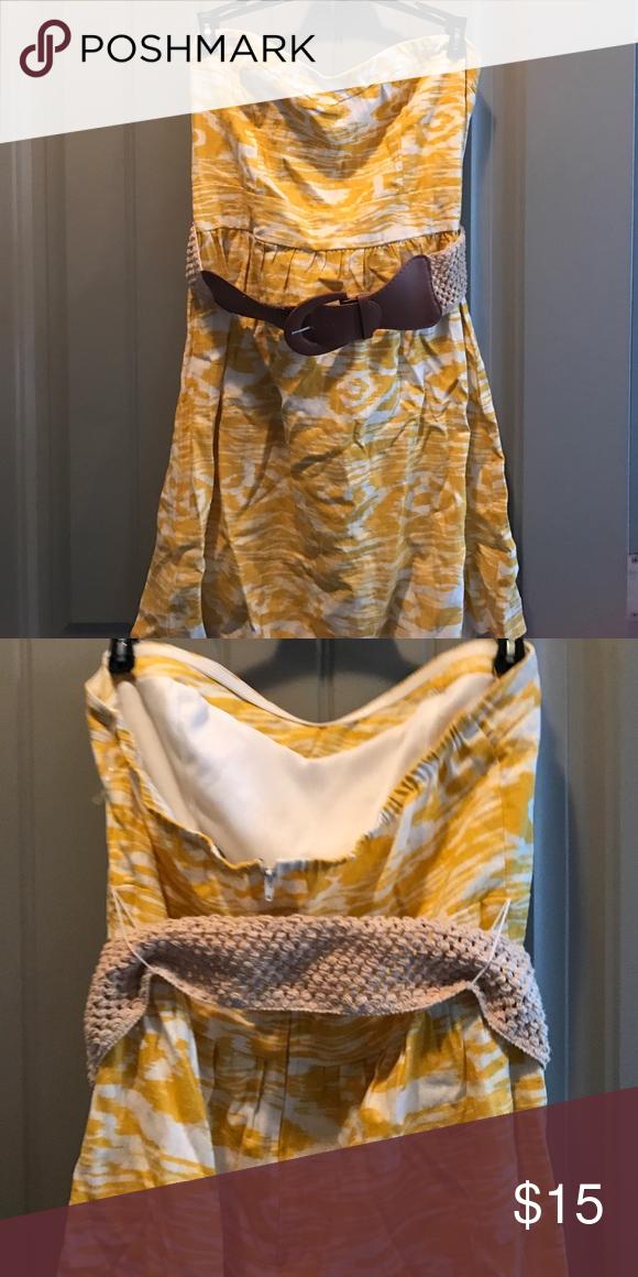 Charlotte Russe strapless dress size L Charlotte Russe strapless dress size L Charlotte Russe Dresses Midi
