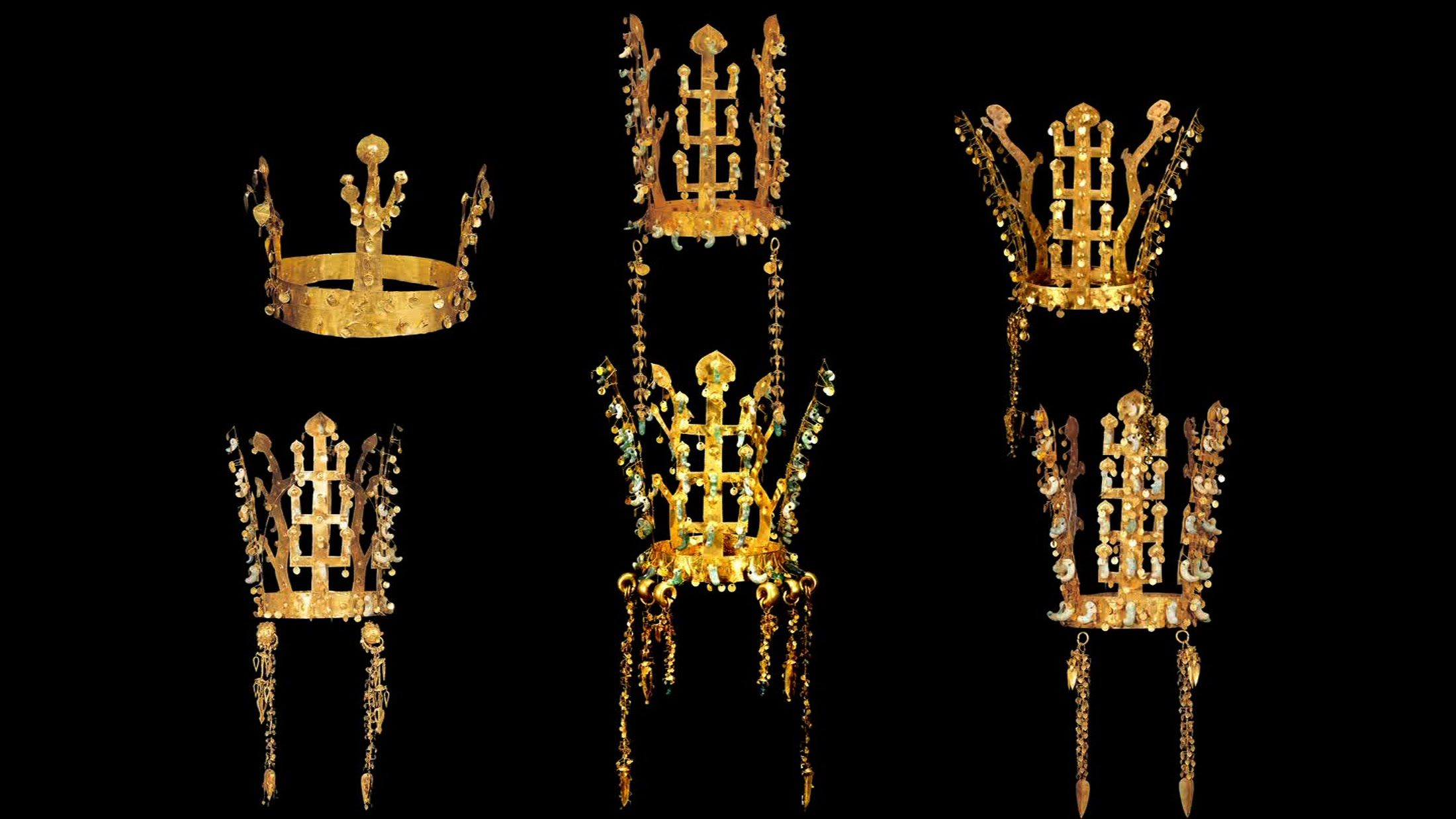 수수께끼의 나라 신라 금관의 비밀 Gold Kingdom Silla 3 10 금관 고고학 문화