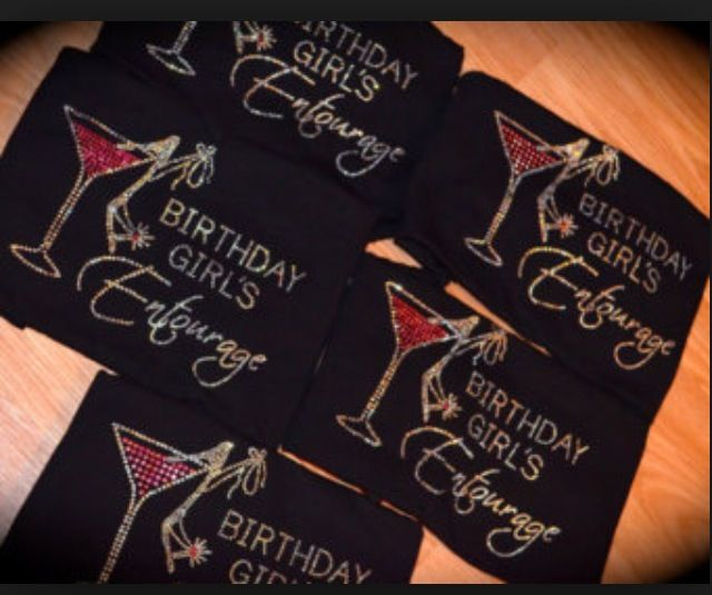 Birthday T-shirts - Girls Night Out