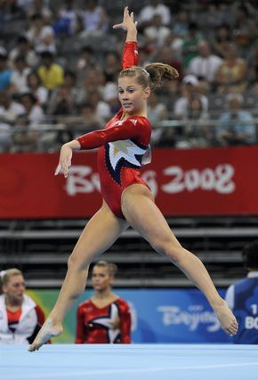 floor gymnastics shawn johnson. United States\u0027 Shawn Johnson Competes On The Floor During Women\u0027s Qualification Of Artistic Gymnastics Event Beijing 2008 Olympic Games In N
