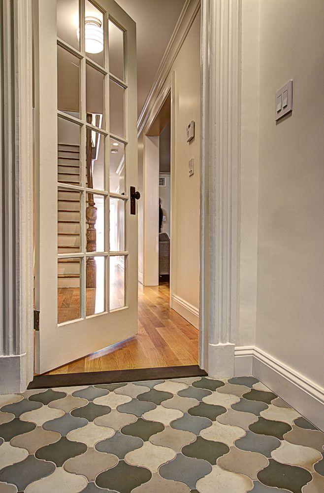 Park Slope Brownstone 2 Ben Herzog Architect Pc Entryway Tile House Flooring Brownstone