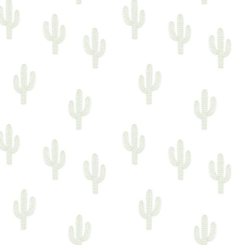 Le Papier Peint Motif Cactus Verts De La Marque Lilipinso Sera