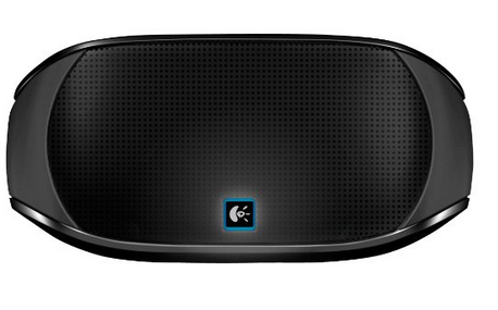 Logitech Mini Boombox (Black)  Wireless speaker for smartphones, tablets and laptops: Stream music from your iPad, iPhone, Android device, laptop or other Bluetooth-enabled devices Doubles as a speakerphone: Built-in mic for crystal clear, hands-free calls from your Bluetooth wireless mobile devices Hand Free Profile Great sound you can take anywhere: Compact size with specially designed acoustic chamber for full rich sound and enhanced bass