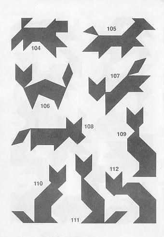 Tangram Tehtäviä