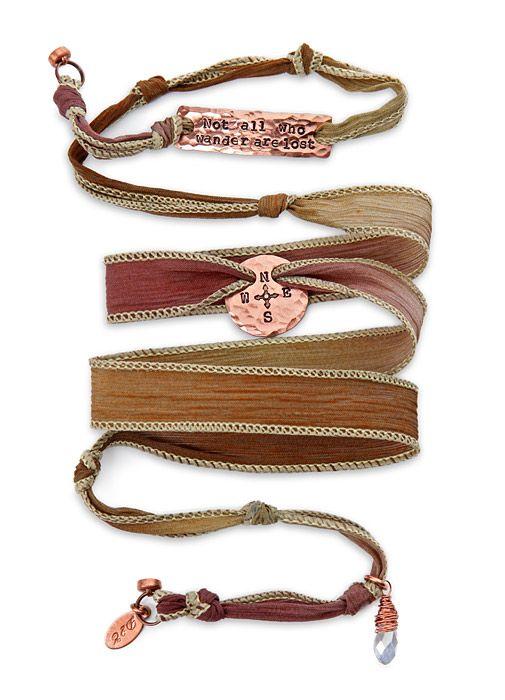 Thinkgeek Tolkien Silk Wrap Bracelet