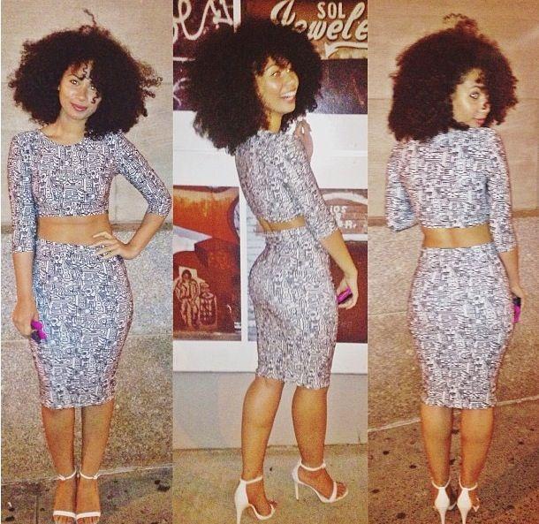 Street style! Gorgeous woman