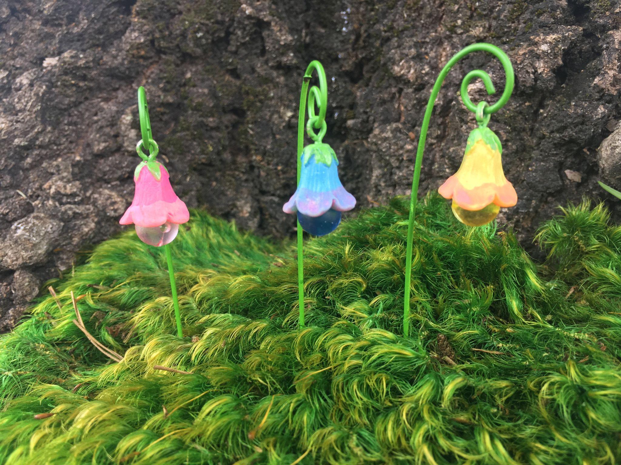 Glow in the dark bell flower garden decor | Gardens, Flower and ...
