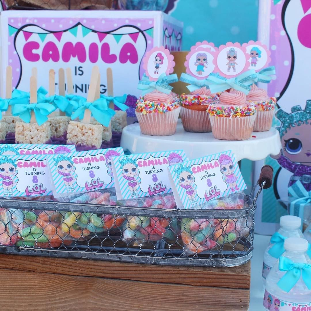 L.O.L. Surprise Birthday Party! #visalia #candybar