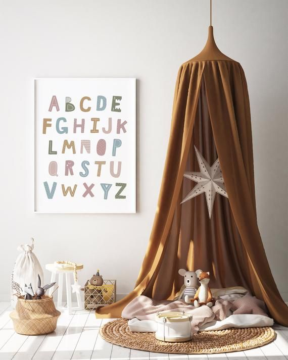 Photo of Cute Alphabet Print, Printable Art, Nursery Decor, Scandi Print, Nursery Prints, Kids Print, Kids Room, Scandi Nursery, Scandi Decor
