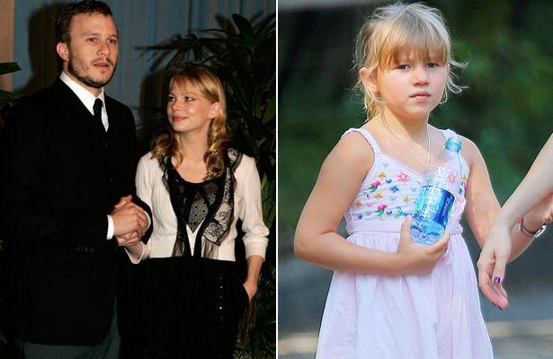 Heath Ledger, Michelle Williams, & daughter, Matilda ...