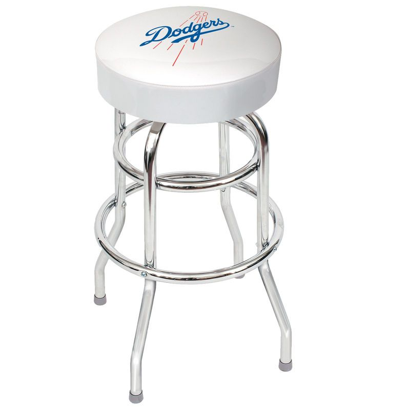 Cool Los Angeles Dodgers Bar Stool Dodgers Bar Stool Squirreltailoven Fun Painted Chair Ideas Images Squirreltailovenorg