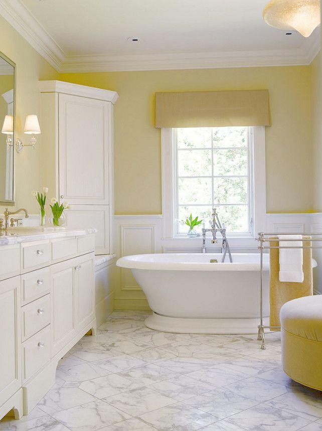 bathroom colors yellow. The Best Benjamin Moore Paint Colors Lemon Sorbet 2019 60 | Powerful And Pretty Yellow Bathroom E