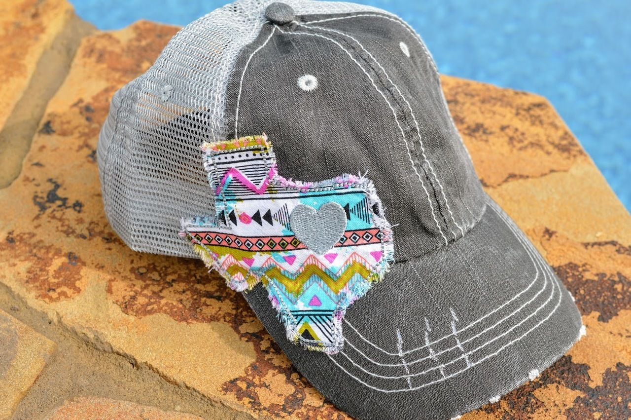 Texas Aztec Patch Hat in 2019 | The Pink Buffalo Boutique