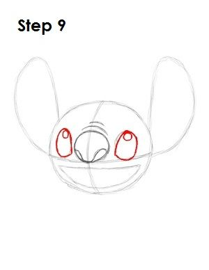 Stitch Step By Step Drawing : stitch, drawing, Stitch, Drawing,, Drawings,, Disney, Drawing, Challenge