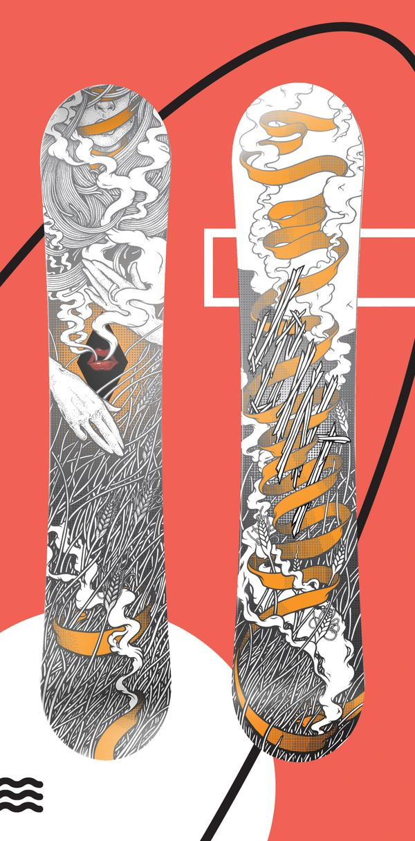 Boards Design by Pavel Ripley, via Behance