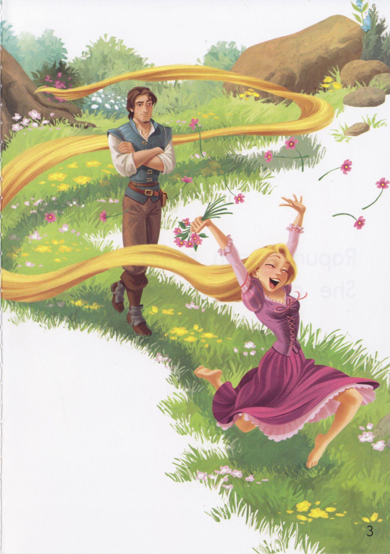 Rapunzel Can Disney Reading Adventures Storybook