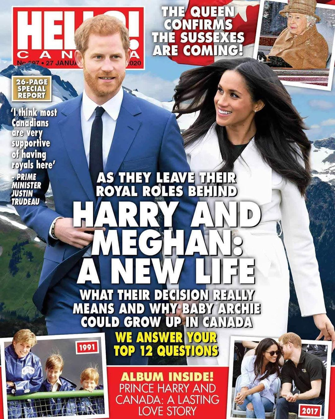 Hello Canada Magazine On Instagram What Will Prince Harry And Duchess Meghan S New Life Look Like Harry And Meghan News Prince Harry And Meghan Prince Harry
