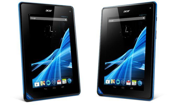l'AcerIconia Tab B1 concurrencera les tablettes7 poucesde Google et d'Amazon