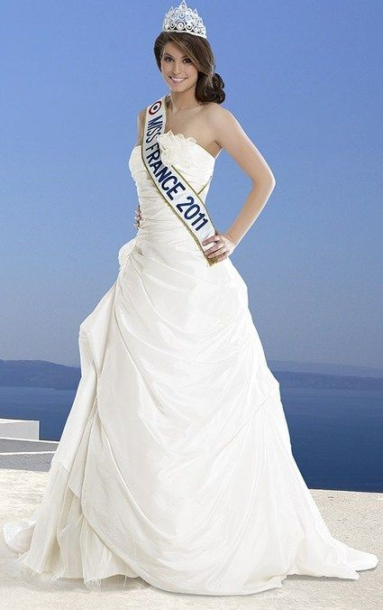 Robe De Mariée Miss France Thilda Mariage Robe Marie Et