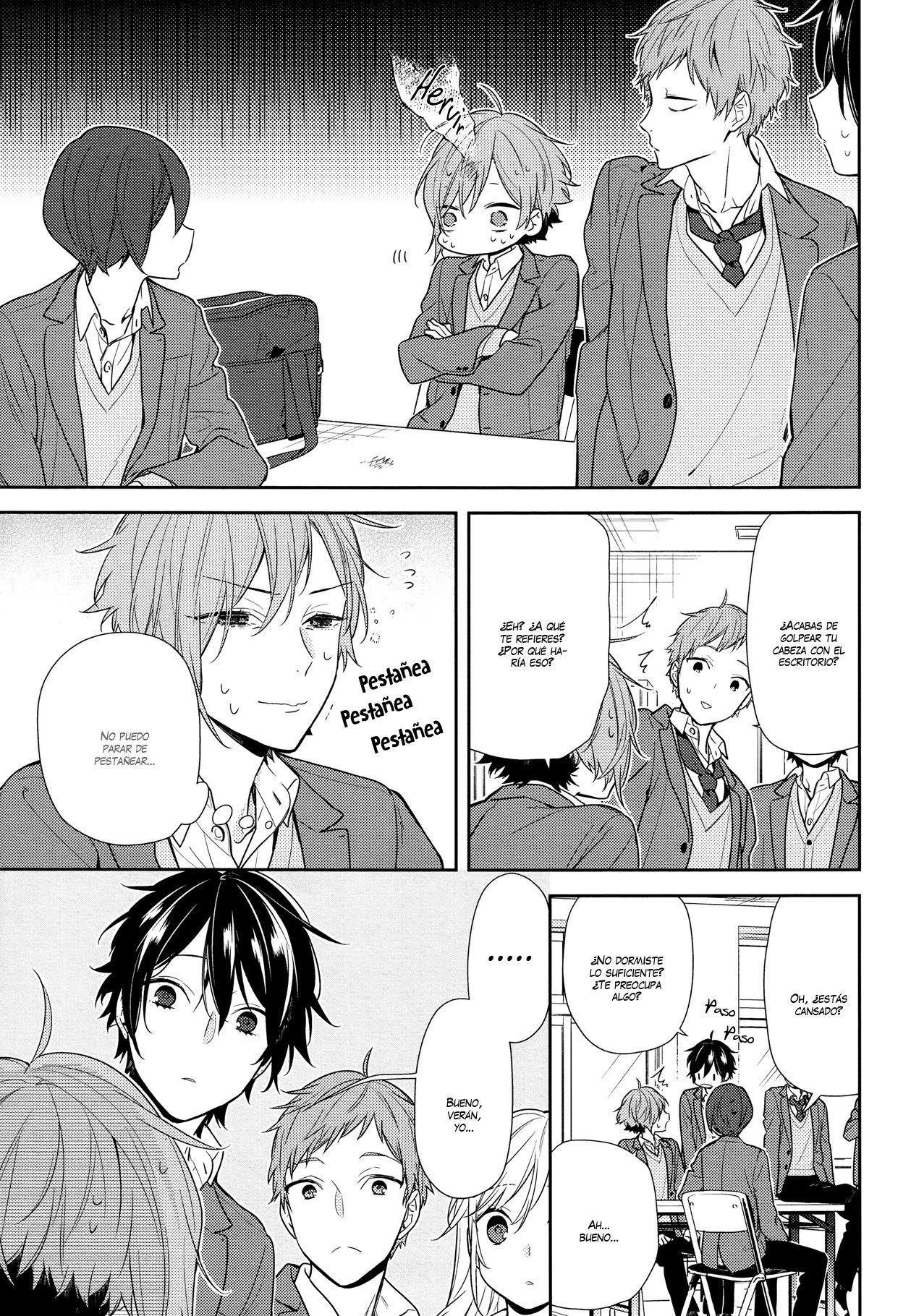 Horimiya 8300 por last heaven fansub manga lectores