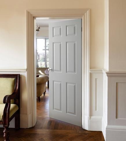 6 Panel Grained Door