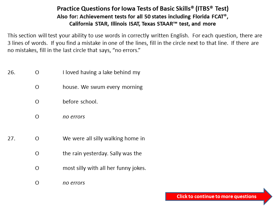 photograph regarding Free Printable Itbs Practice Worksheets named Pin upon Talented and Gifted Tests