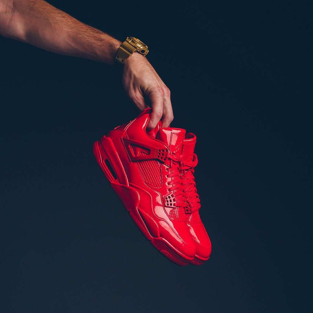 """more photos b5c12 36d0e Sneaker Politics on Instagram  """"Air Jordan 11LAB4 - University Red White   250 sizes 8-14 Available 07 11 2015 at all locations."""