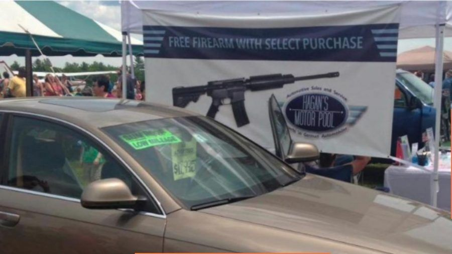New Hampshire Car Dealer Offers Free AR-15 with Car Purchase