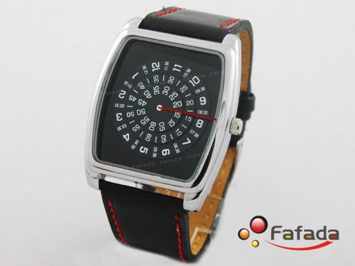 68c0d28fbad Jialilei Rectangle Single mens Quartz Wrist Watch