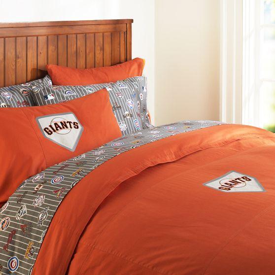 San Francisco Giants Duvet Cover & Pillowcase | PBteen
