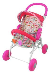 Amazon Com Fisher Price Little Mommy Baby Doll Stroller Toys