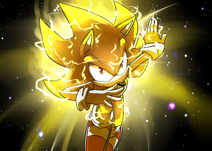 Super Sonic By Sacred Hedge On Deviantart Sonic Fotos Sonic Dibujos Sonic