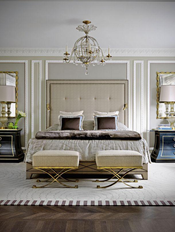 Appartement ultra luxueux par le décorateur français Jean Louis