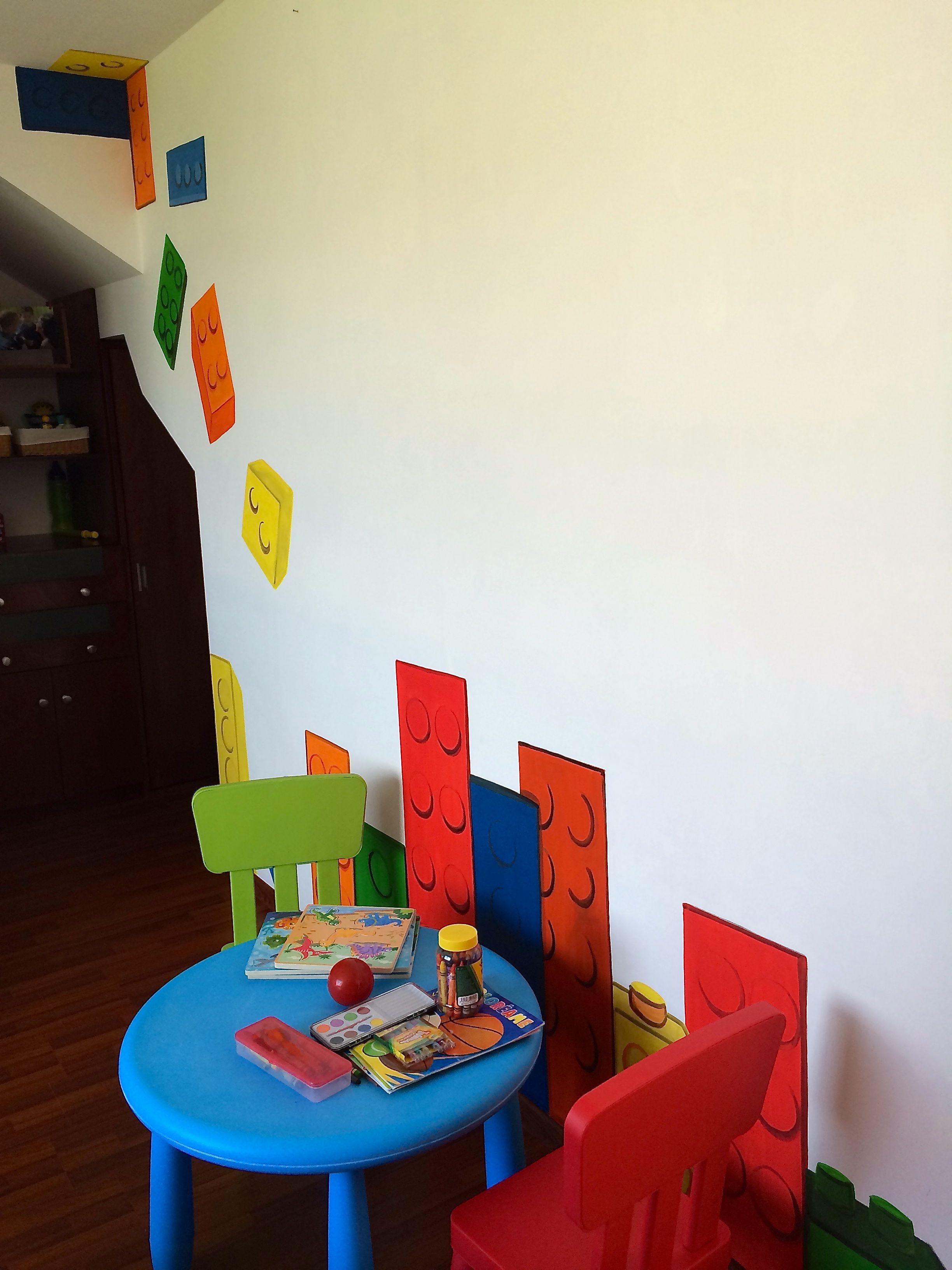 Decoración cuarto para niños   baby juegos color   Pinterest