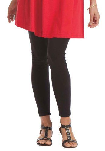 bedaa4387bdef Woman Within Plus Size Leggings In Stretch Knit Woman Within. $15.99 ...