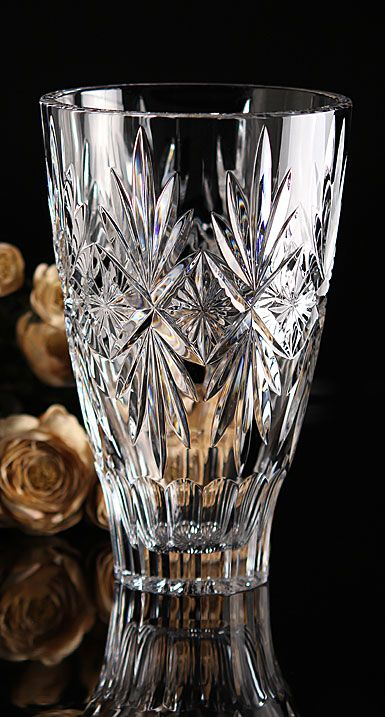 Waterford Crystal Normandy 10 Vase Waterford Crystal Crystal Glassware Waterford