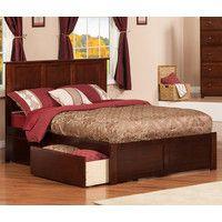 Greyson Storage Platform Bed