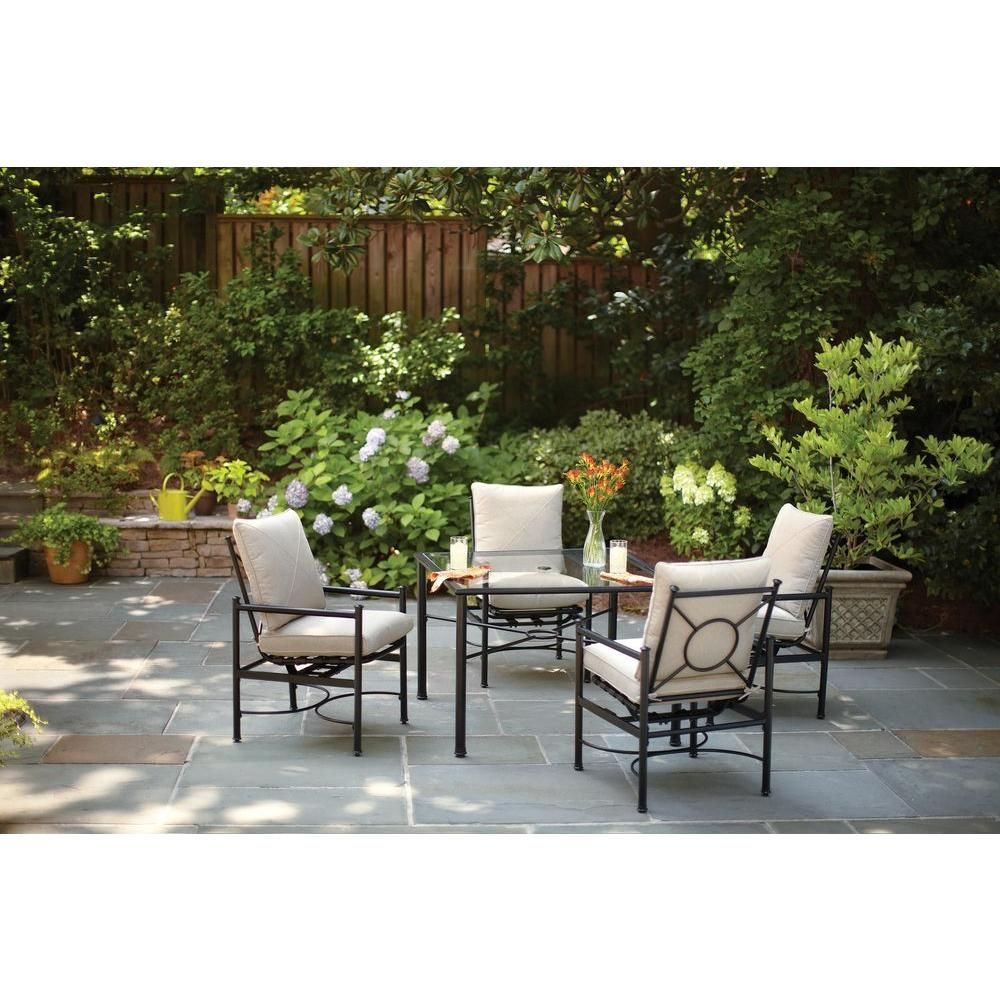 Formalbeauteous Geary 5 Piece Dining Set Table
