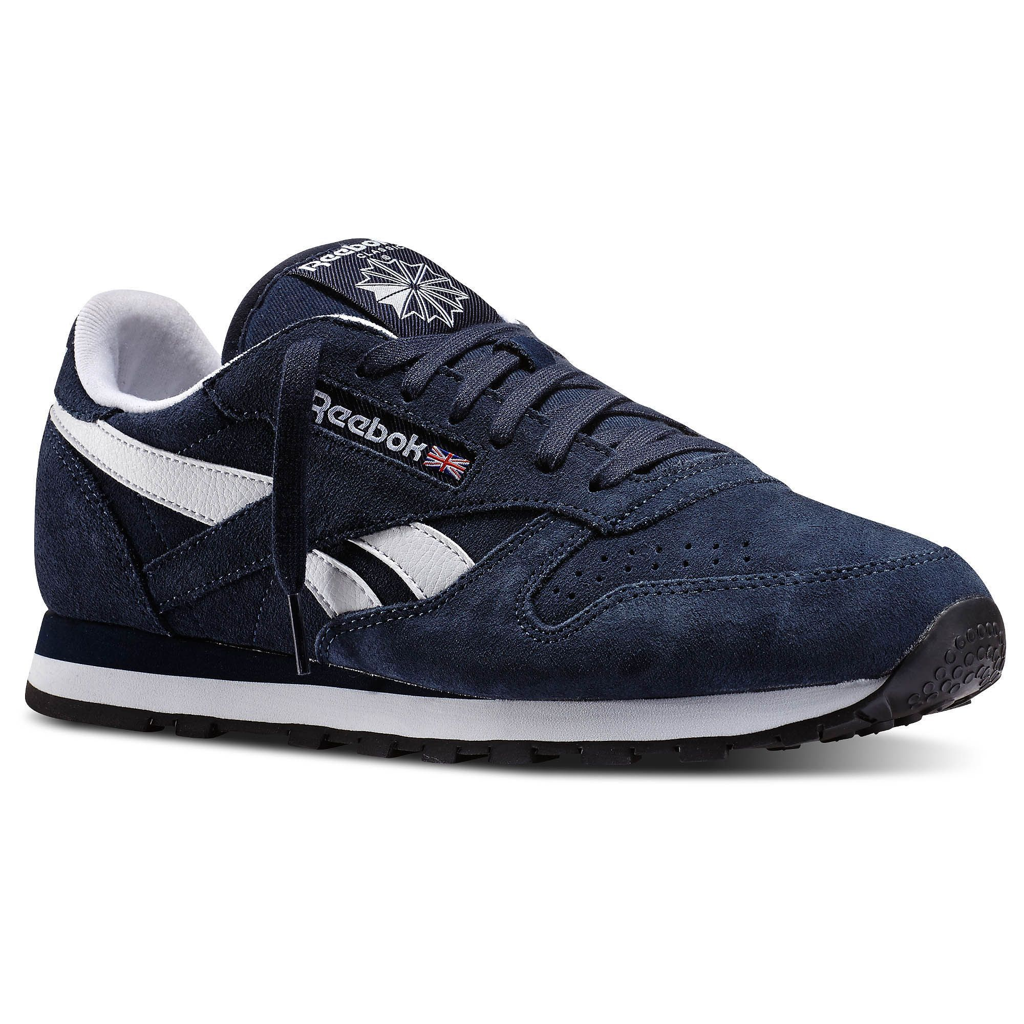 Reebok Classic Leather Suede Blue Reebok Classic Leather