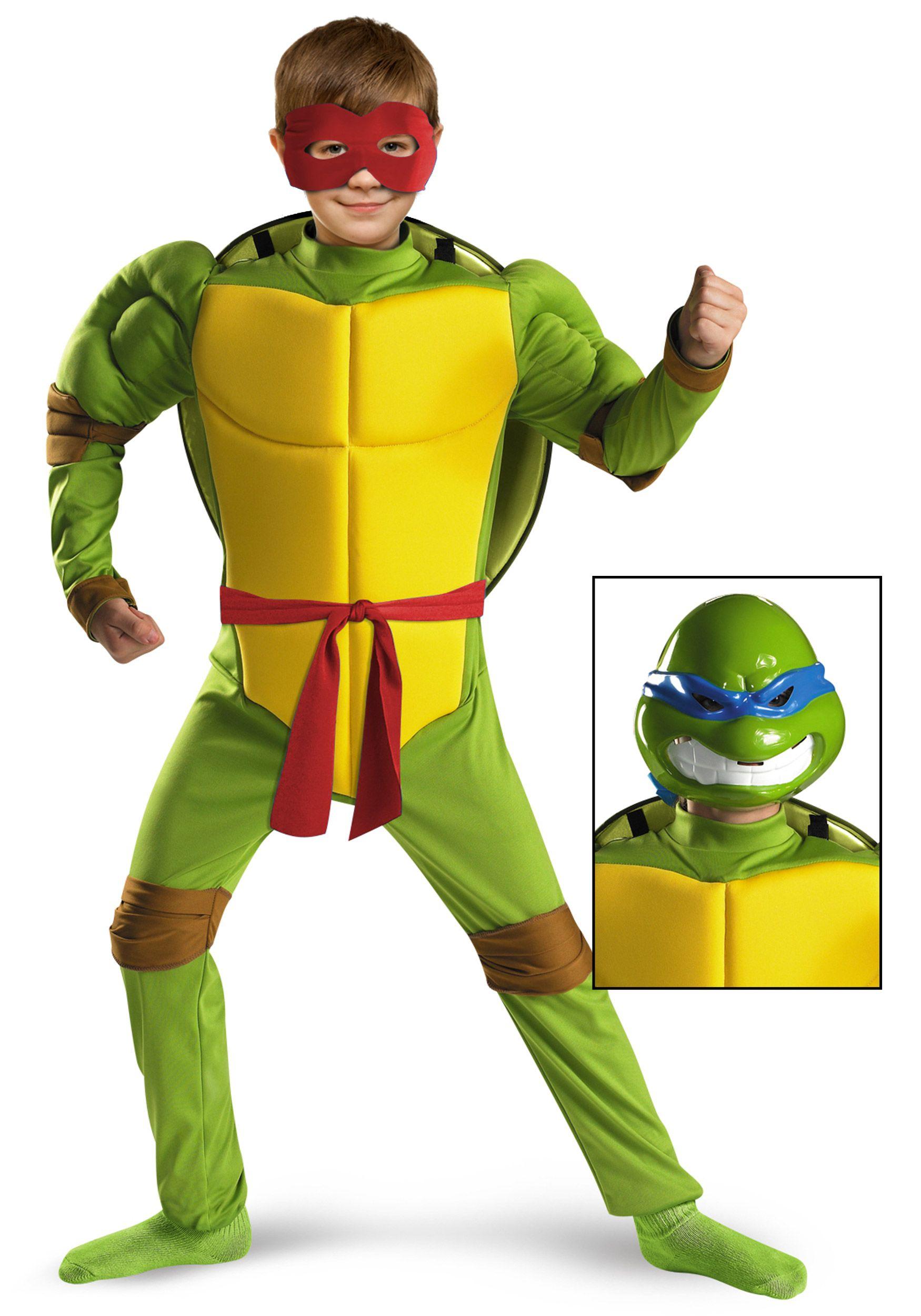 Child/'s Size TMNT Teenage Mutant Ninja Turtles Leonardo One-Piece Jumpsuit