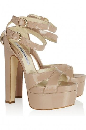 4fce23ba847 Sandali platform Clea Brian Atwood. UAL has these at 70% off retail right  now!