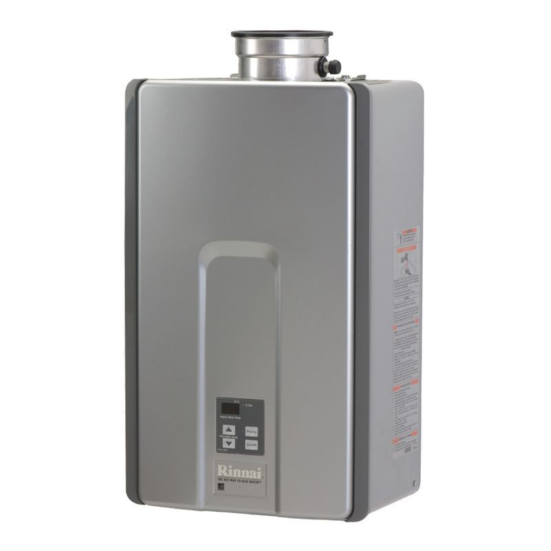 Rinnai Rl94ip Liquid Propane Internal Whole House Liquid Propane Tankless Water Heater 9 4 Gallons Per Minute With Isolation Valves Tankless Water Heater Tankless Water Heater Gas Water Heater