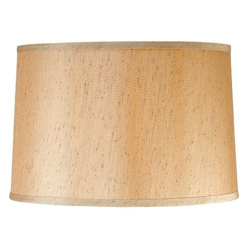 Large Silk Drum Lamp Shade By Design Classics 34 95 Large Mocha Silk Drum Lampshade With Spider Assembly Lamp Shade Drum Lampshade Drum Shade