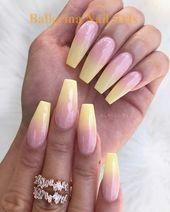 45 lustige Möglichkeiten, Ballerina-Nägel zu tragen - Ballerina Nails - Nagel