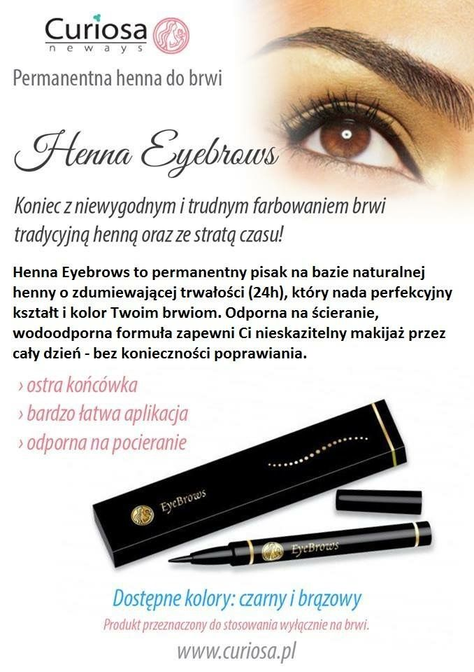 Henna Eyebrow Pen Gentle To Your Eyebrow Curiosa Henna Makeup
