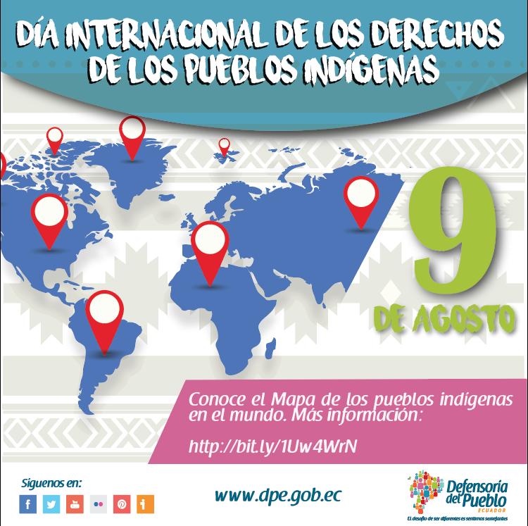 Pin By Defensoría Del Pueblo Ecuador On Día Internacional De Los Derechos De Los Pueblos Indígenas Map