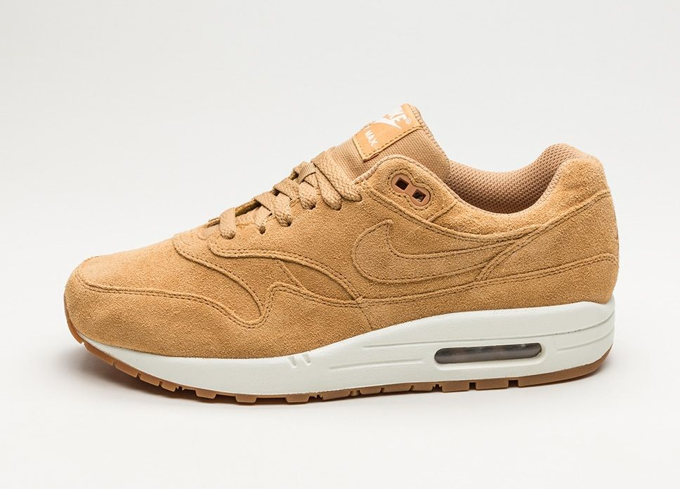 Nike Air Max 1 Premium (Flax Flax – Sail – Gum Medium