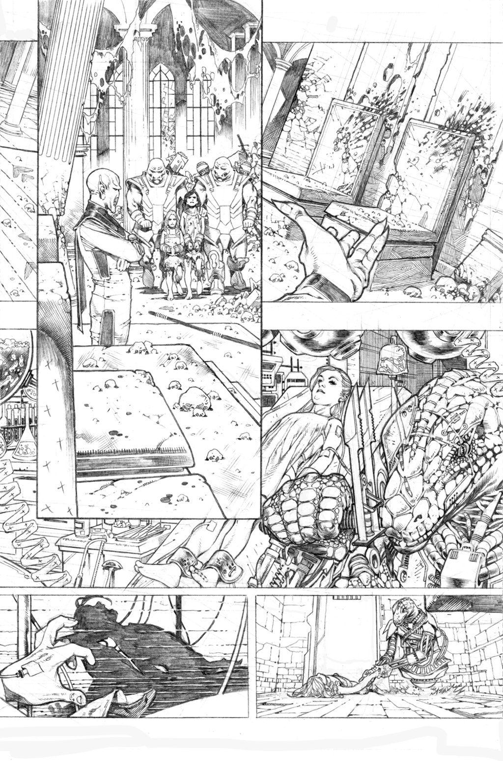 Secret origins 02 Starfire page 03 by PauloSiqueira on DeviantArt ...