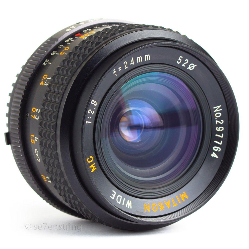 Mitakon 24mm F2 8 Wide Angle Macro Lens Nikon Ai Fit Dx Fx Dslr Adaptable Macro Lens Vintage Lenses Wide Angle