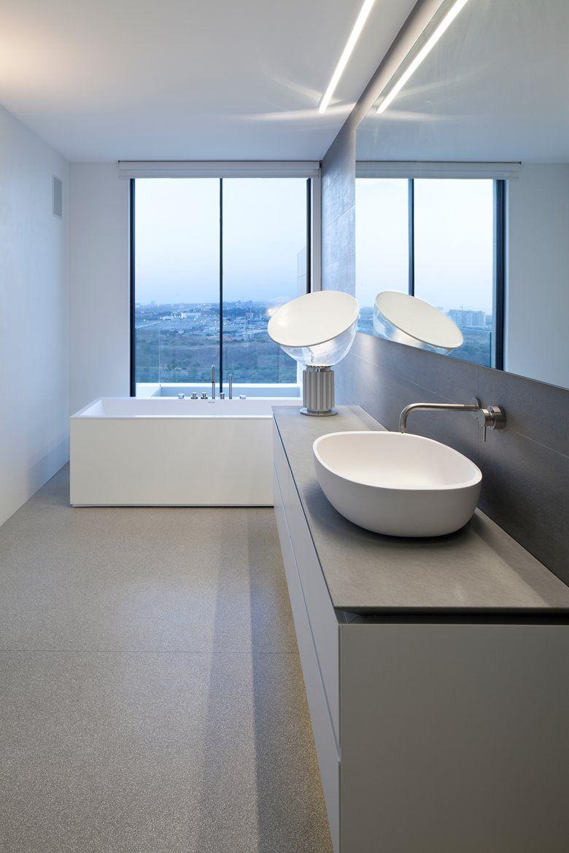 Glass table #lamp by FLOS | #Design Achille Castiglioni, Pier Giacomo Castiglioni